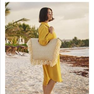 Yellow Dress/ Coverup H&M Conscious Collection